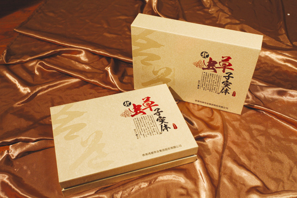 Special paper hot stamping gift box